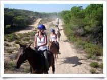 Tre Stelle Sa Mandra - Escursioni a Cavallo Porto Ferro / Alghero (Sardegna)