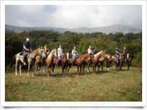 Club Ranch Barlot - Associazione Sportiva Dilettantistica - Escursioni a Cavallo a Caprino Veronese (Veneto)