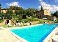 Agriturismo Le Cerinaie - Appartamenti e ristorante, in azienda agricola biologica , a Castelnuovo di Val di Cecina (Toscana)