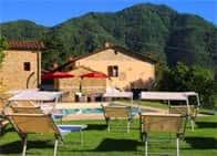 Agriturismo I Chiosi - Camere in agriturismo con piscina a La Greta / Comano (Toscana)