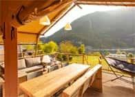 Lodge Holidays - Camping Gajole - Camping con ristorante, fronte Lago di Corlo in  - Arsiè -  (BL) - Veneto