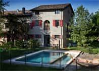 Agriturismo La Lepre Bianca - Camere e ristorante in agriturismo, con piscina a Renazzo / Cento (Emilia Romagna)