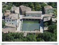 Stabilimento Termale Bagno Vignoni - Centro Termale a località Bagno Vignoni / San Quirico d'Orcia (Toscana)