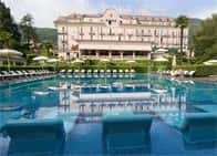 Hotel Simplon - Hotel with restaurant, spa, and swimming pool in Baveno (Piedmont)