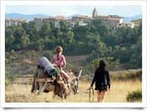 Deep Walking - Cammino Profondo nell'Abruzzo Interiore - Viaggio Da Tagliacozzo a Sulmona con gli Asini a Tagliacozzo (Lazio)