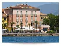 Hotel Residence Bellavista - Camere e appartamenti, ristorante e centro benessere, a Riva del Garda (Veneto)