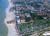 Camping Village Rubicone - Holiday village, with guest rooms, bungalows and mobile homes in Savignano sul Rubicon (Emilia Romagna)