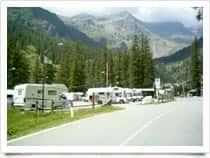 Area camper Tschaval - Area sosta camper attrezzata con camper service, a <span class=&#39;notranslate&#39;>Gressoney-La-Trinit&eacute;</span> (Valle d&#39;Aosta)
