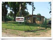 Area camper CirceMedArea sosta camper a San Felice Circeo