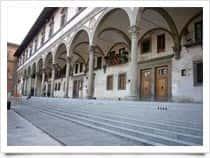 Spedale degli Innocenti -  a Firenze (Toscana)