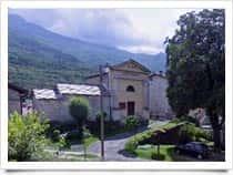Cappella di San Lorenzo detta del Conte -  San Giorio di Susa (Piemonte)