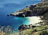 Spiaggia Cala Tonnarella dell'Uzzo - Spiaggia San Vito Lo Capo (Sicilia)