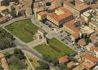 Arco di Augusto - di epoca romana - I secolo a.C., a <span class=&#39;notranslate&#39;>Rimini</span> (Emilia Romagna)