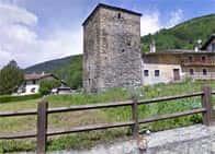 Torre di Vachéry -  a Etroubles (Valle d'Aosta)