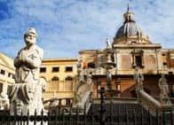 Fontana Pretoria - , a Palermo (Sicilia)