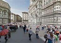 Piazza del Duomo e Piazza San Giovanni a Firenze