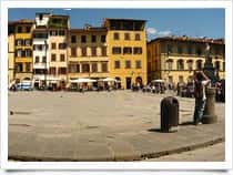 Piazza Santa Croce -  a Firenze (Toscana)