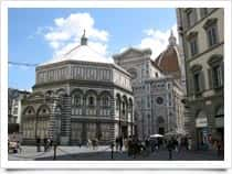 Baptistery of St. John -, in Florence (Tuscany)