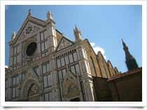 Basilica of Santa Croce -, in Florence (Tuscany)