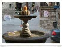Fontana del Bargello - Fontana dei Matti -  a Gubbio (Umbria)