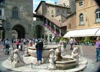 Piazza Vecchia - in Bergamo (Lombardy)
