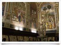Libreria Piccolomini a Siena