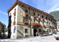 Palazzo Pretorio o della Ragione - sede del comune di Sondrio, a <span class=&#39;notranslate&#39;>Sondrio</span> (Lombardia)