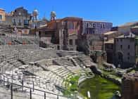 Teatro Romano - Sito archeologico a Catania (Sicilia)