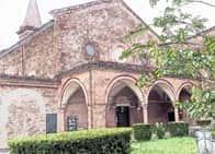 Chiesa e Monastero di Sant'Antonio in Polesine - Affreschi di scuola giottesca, bizantina e rinascimentale nelle cappelle di un monastero del XIII secolo., a Ferrara