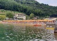 Spiaggia Miami - Stabilimento balneare, a Corconio / <span class=&#39;notranslate&#39;>Orta San Giulio</span> (Piemonte)