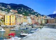 Porticciolo di Camogli - Porticciolo turistico a Camogli (Liguria)