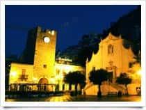 Torre dell'Orologio o Porta di Mezzo -  a Taormina