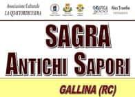 Sagra Antichi Sapori - Enogastronomia, animazione ed intrattenimento musicale per tutta la serata, a Gallina / Reggio Calabria (Calabria)