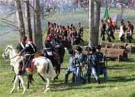 Rievocazione storica della Battaglia della Bicocca - , a Novara (Piemonte)