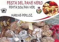 Festa del Pane Nero - Fehta dou pan ner - Tradizionale sagra gastronomica, a Perloz (Valle d'Aosta)