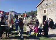 Pellegrinaggio alla Chiesa di San Marco -  a Lei (Sardegna)