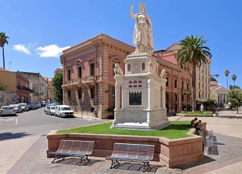 Photo Monumento a Eleonora d'Arborea