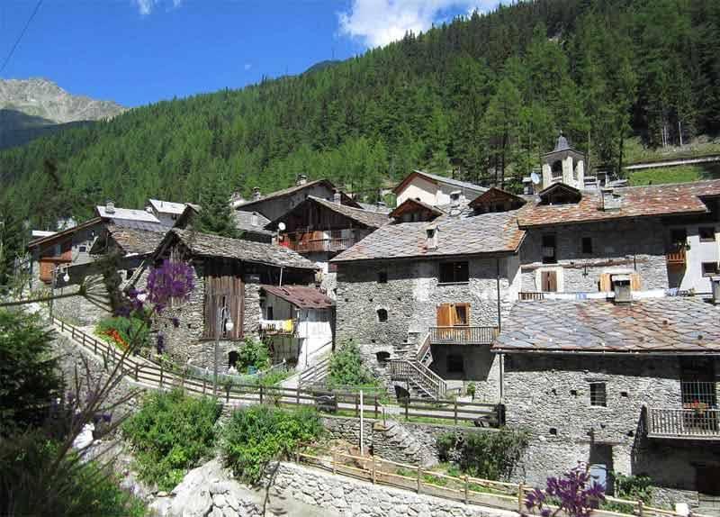 Photo di Saint-Rhémy-en-Bosses - Valle d'Aosta ( Italia )
