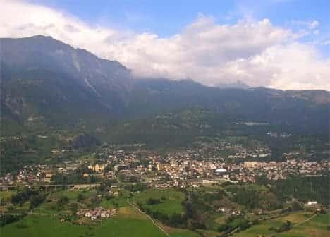 Photo di Saint-Vincent - Valle d'Aosta ( Italia )