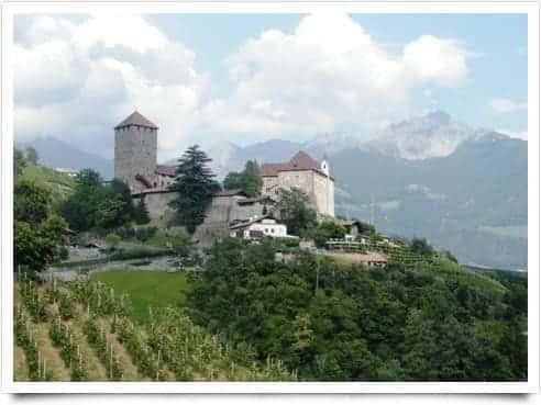 Photo di Natale a Castel Tirolo