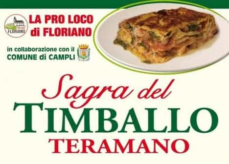 Photo di Sagra del Timballo Teramano