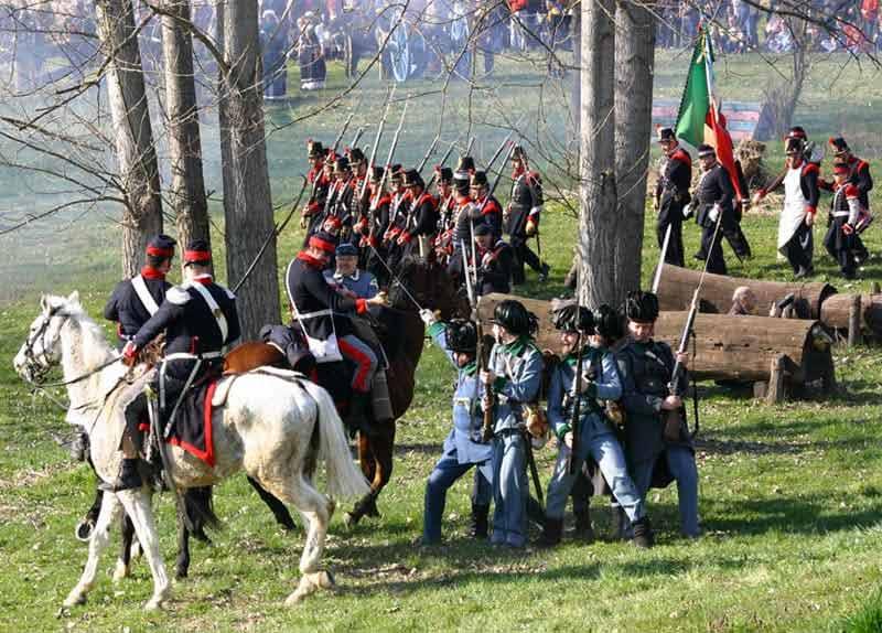 Photo di Rievocazione storica della Battaglia della Bicocca