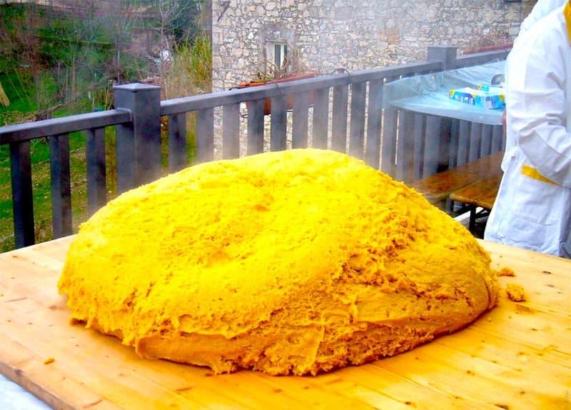 Photo di Sagra del polentone di Castel di Tora