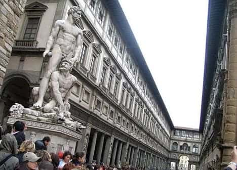Photo Uffizi Gallery
