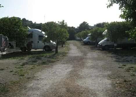 Photo Camping Noto Parking