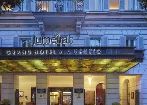 Photo Jumeirah Grand Hotel Via Veneto - Roma