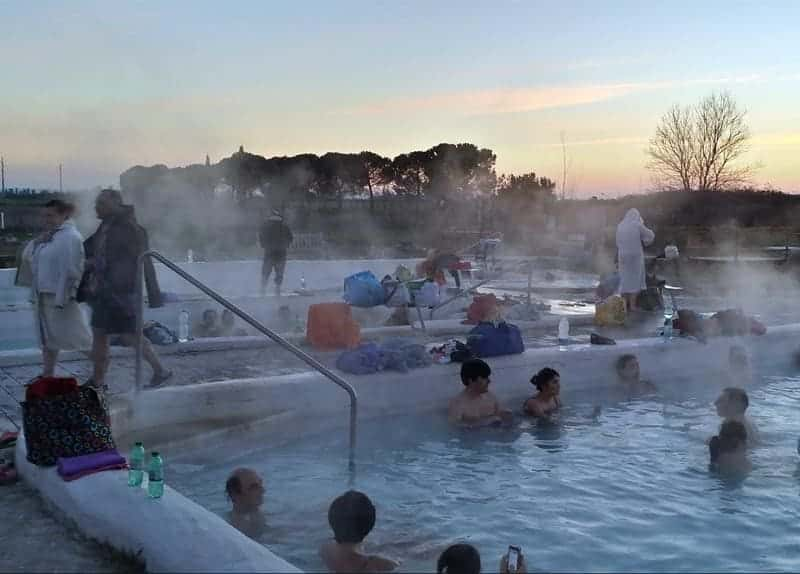 Photo of the free spa area of ​​the Bagnaccio