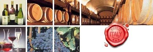 Cantine, aziende vinicole, Italia